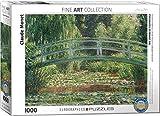 1000 piece puzzle monet - EuroGraphics The Japanese Footbridge by Claude Monet (1000 Piece) Puzzle