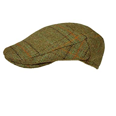 English Tweed Flat Cap Earland Brothers Made by Failsworth Hats 6 tweeds  Small to XXXL Size  Amazon.co.uk  Clothing 204099eee2a
