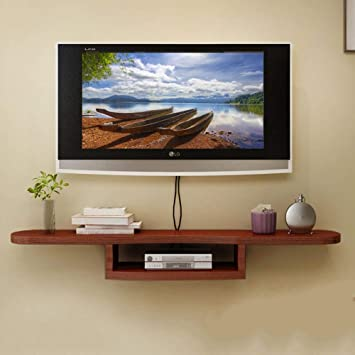 Ds Etagere Meuble Tv Mural Etagere Murale 2 Couches Meuble Mural