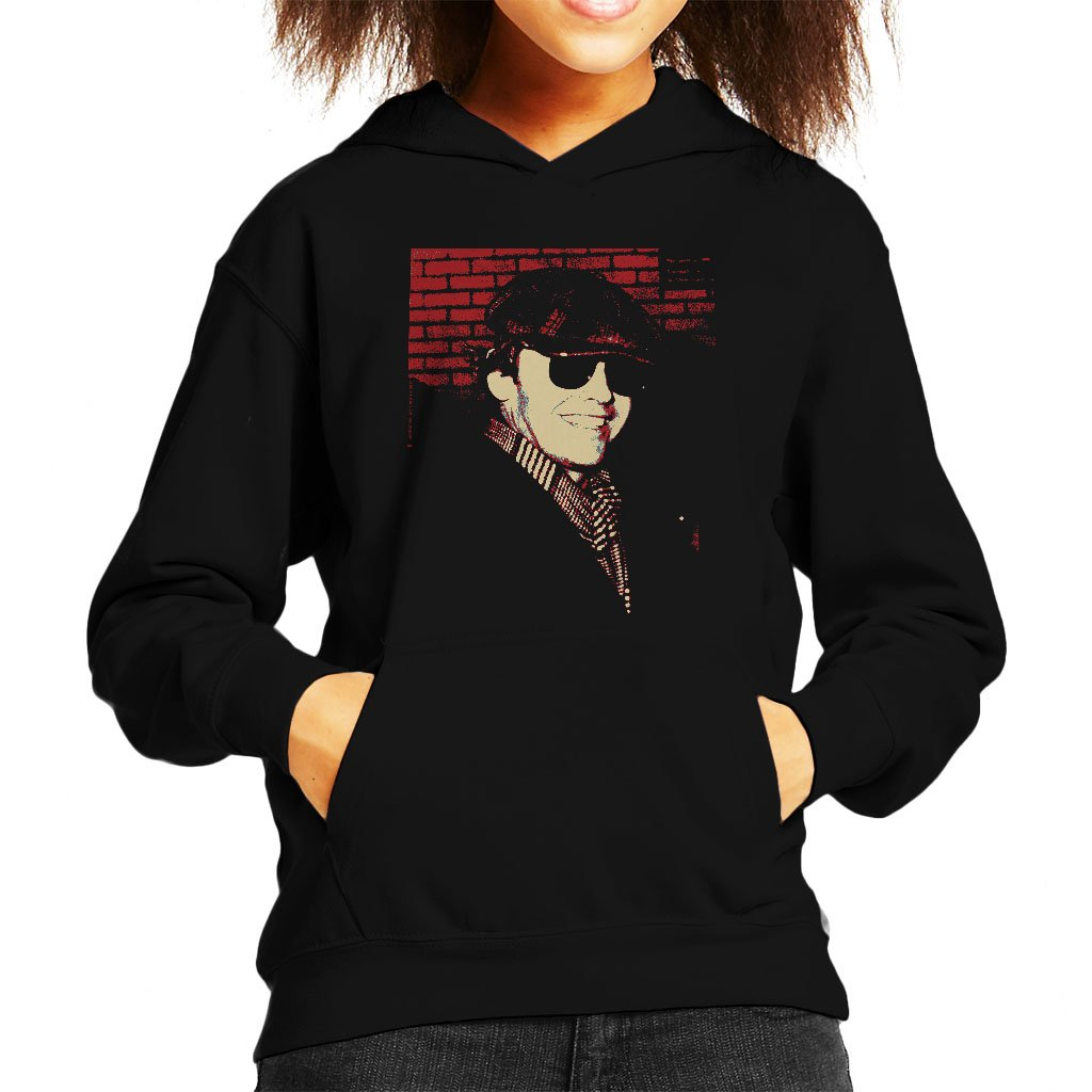 POD66 Jack Nicholson 1976 Sunglasses Cap and Scarf Kid's Hooded Sweatshirt