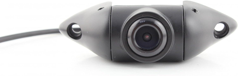 Ympa Rückfahrkamera Kamera Farbe Drehbar Metallgehäuse Schwarz Mit 6 Meter Kabel Für Monitor Auto Kfz Pkw Wohnmobil Transporter Klein Kompakt Aufbau 170 180 Rfk Ab170 Auto