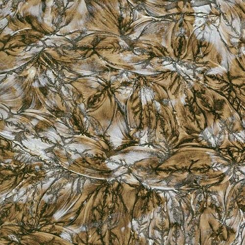 - 8x10 Van Gogh Champagne Silver Mirror Stained Glass Sheet 3mm Mosaics VG0050A
