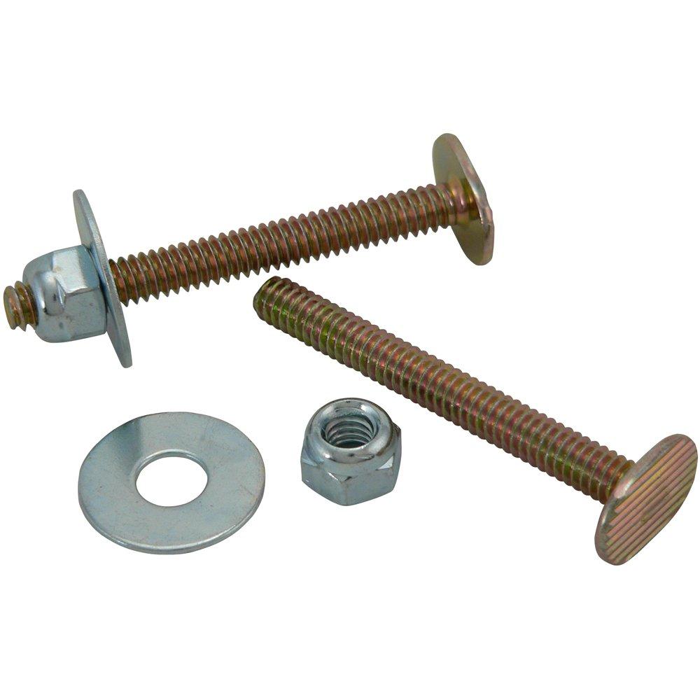 Plumb Pak PP835-16BU 1/4'' x 2-1/4'' Toilet Bolts, Brass by Plumb Pak