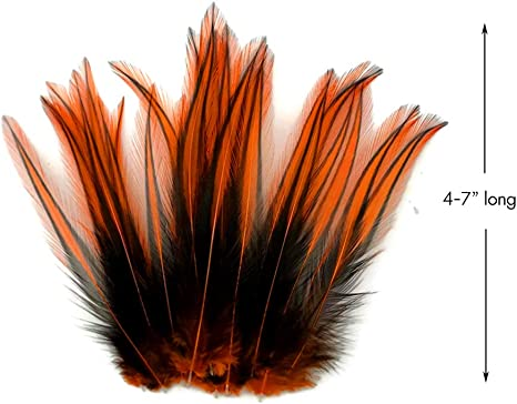 Fly Tying Select  Dark Red Brown Cockerel Saddle Cape