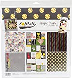 Simple Stories 7880 Softball 12'' x 12'' Collection Kit