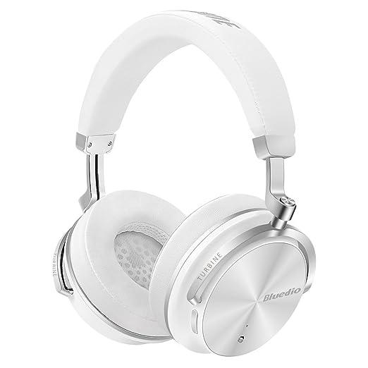 34 opinioni per Bluedio T4S (Turbine)- Cuffie Over-ear Bluetooth Orientabili con Cancellazione