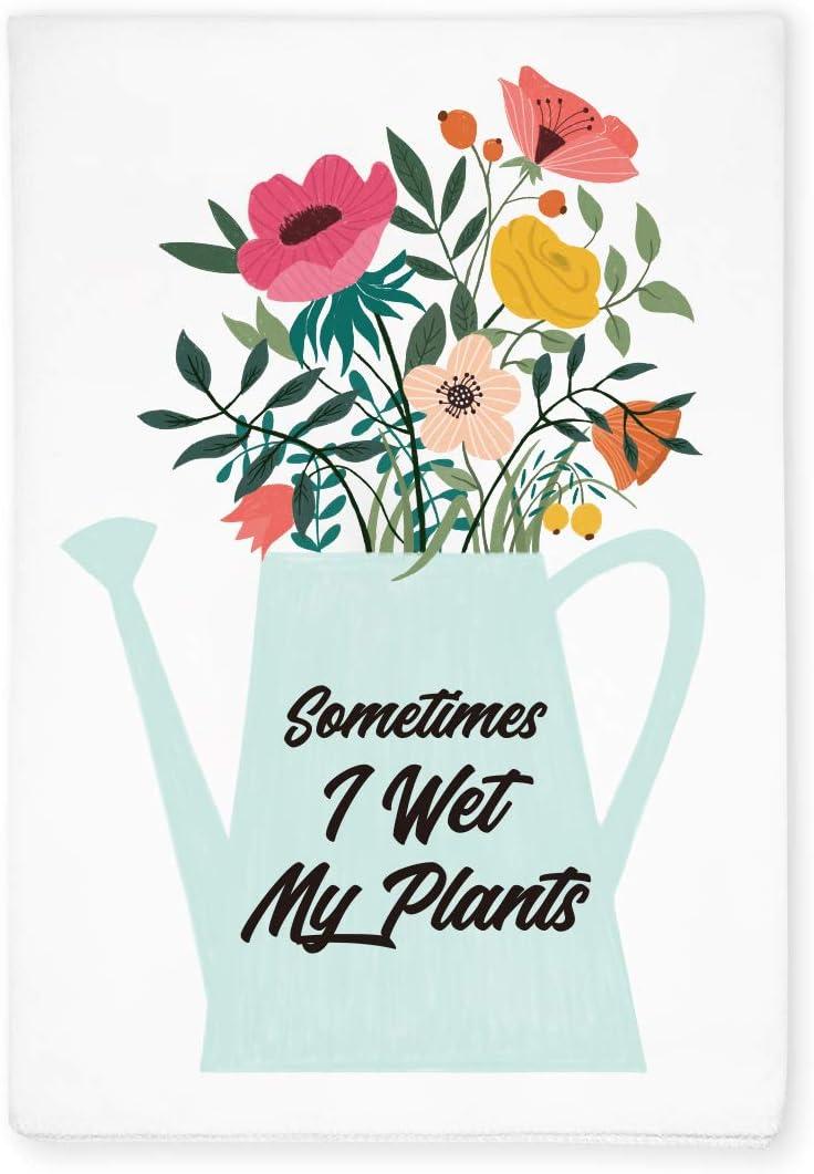 KAHPAN Funny Gardener Hand Flour Sack Dish Tea Towel, Home Garden Farmhouse Decor, Gift for Gardener, Plant Lover, Christmas, Thanksgiving, Birthday, Grandpa, Grandma