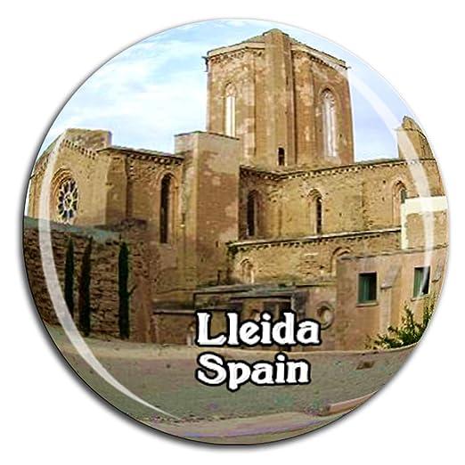 Weekino Gardeny Castle Lleida España Imán de Nevera Cristal 3D ...