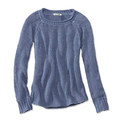 9b2d72a36f4 Orvis Garment-Dyed Rollneck Cotton Jumper: Amazon.co.uk: Clothing