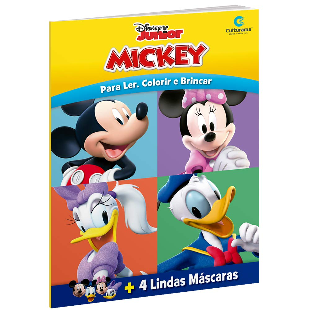 Mascaras Divertidas Mickey Livros Na Amazon Brasil 9788568599655