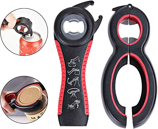 Can Multi Jar and Bottle Opener free post! Rubber Grip Twist