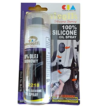50ml 100% SILICONE OIL SPRAY FOR CAR SEALS MADE OF RUBBER LEATHER
