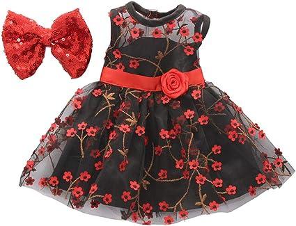Mode Mädchen Puppe Patchwork Kleid für 18-Zoll-American Doll Dress Up