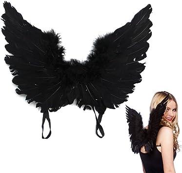 Black angel//fairy wings