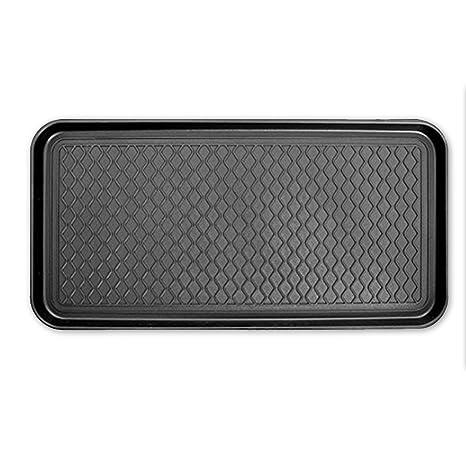 JJOnlinestore - Bandeja lavable (para uso con calzado, derramables, etc), negro, 1 PC: Amazon.es: Hogar