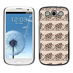 ZECASE Funda Carcasa Tapa Case Cover Para Samsung Galaxy S3 I9300 No.0000041