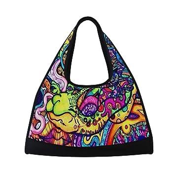 Amazon.com: Bolso de tela de tela para tríptico, bolsa de ...