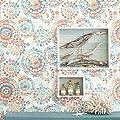 RoomMates RMK9126WP Bohemian Peel and Stick Wallpaper