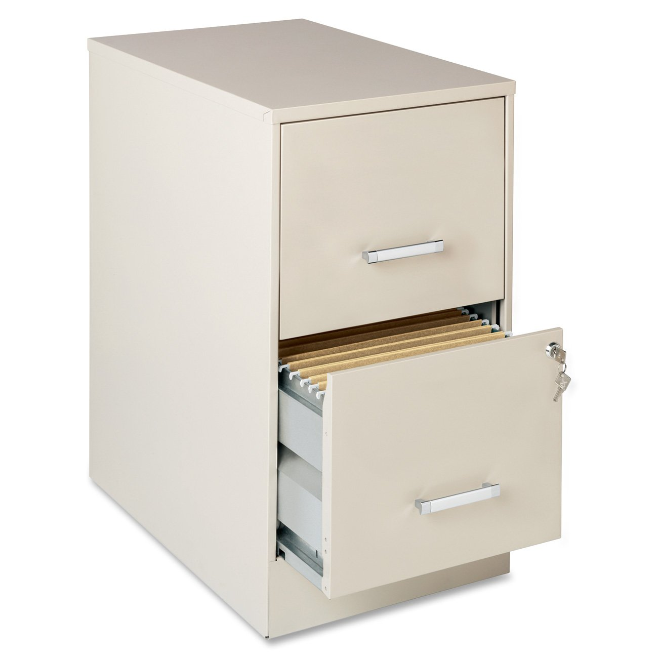 Amazon.com: Lorell 16870 2 Drawer Mobile File Cabinet, 22 Inch: Home U0026  Kitchen