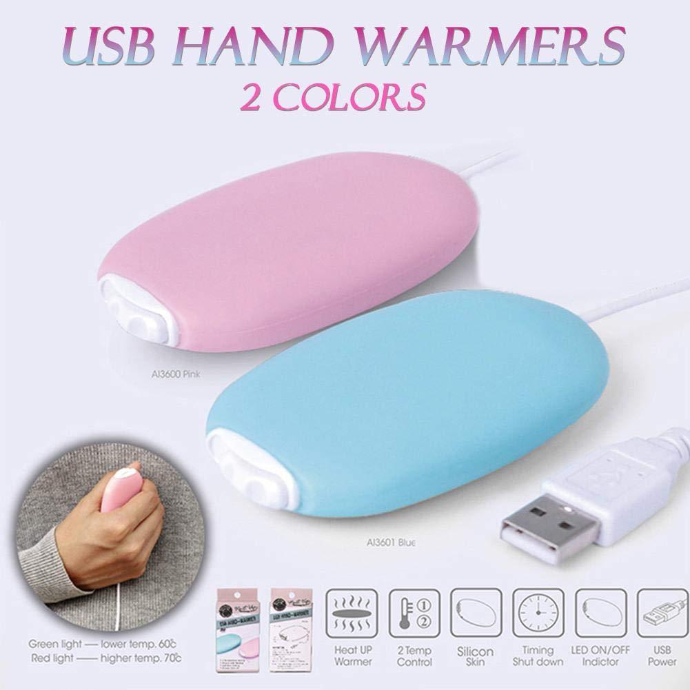 Calentador de mano USB recargable Calentador de mano el/éctrico Calentador de mano Grandes regalos para calentar la mano en invierno
