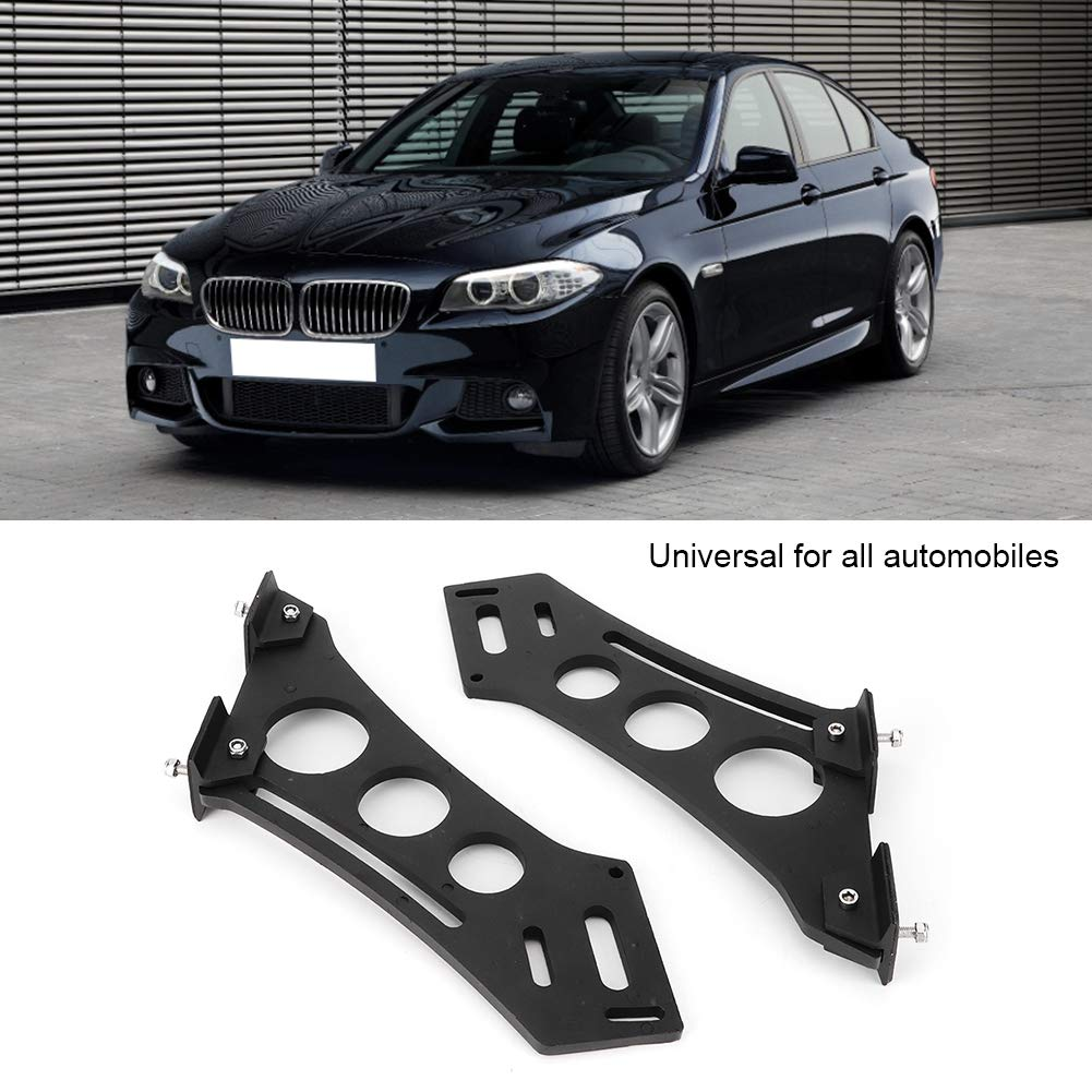 Qii lu Spoiler Mount Brackets 10 Universal Car CNC Aluminum Alloy Rear Wing Trunk Racing Tail Spoiler Legs Mount Brackets