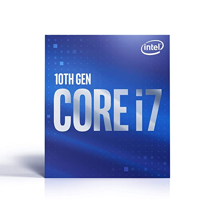 Intel Core i7-10700 - Procesador de sobremesa (8 núcleos hasta 4,8 GHz LGA 1200 (Intel 400 Series Chipset) 65 W, BX8070110700