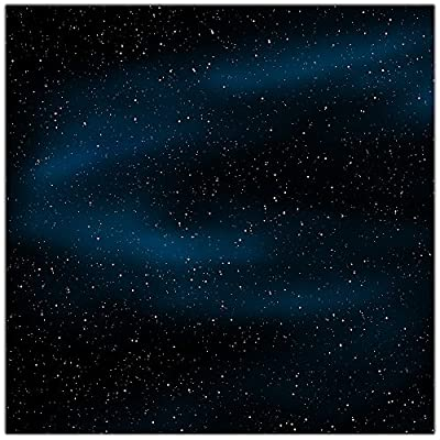 Star Field Wargaming Play Mat – 36x36 Inch Table Top Roleplaying and Miniature Battle Game Mat Great for Warhammer 40k Star Wars Minis Warmachine Polyester with anti-slip rubber backing