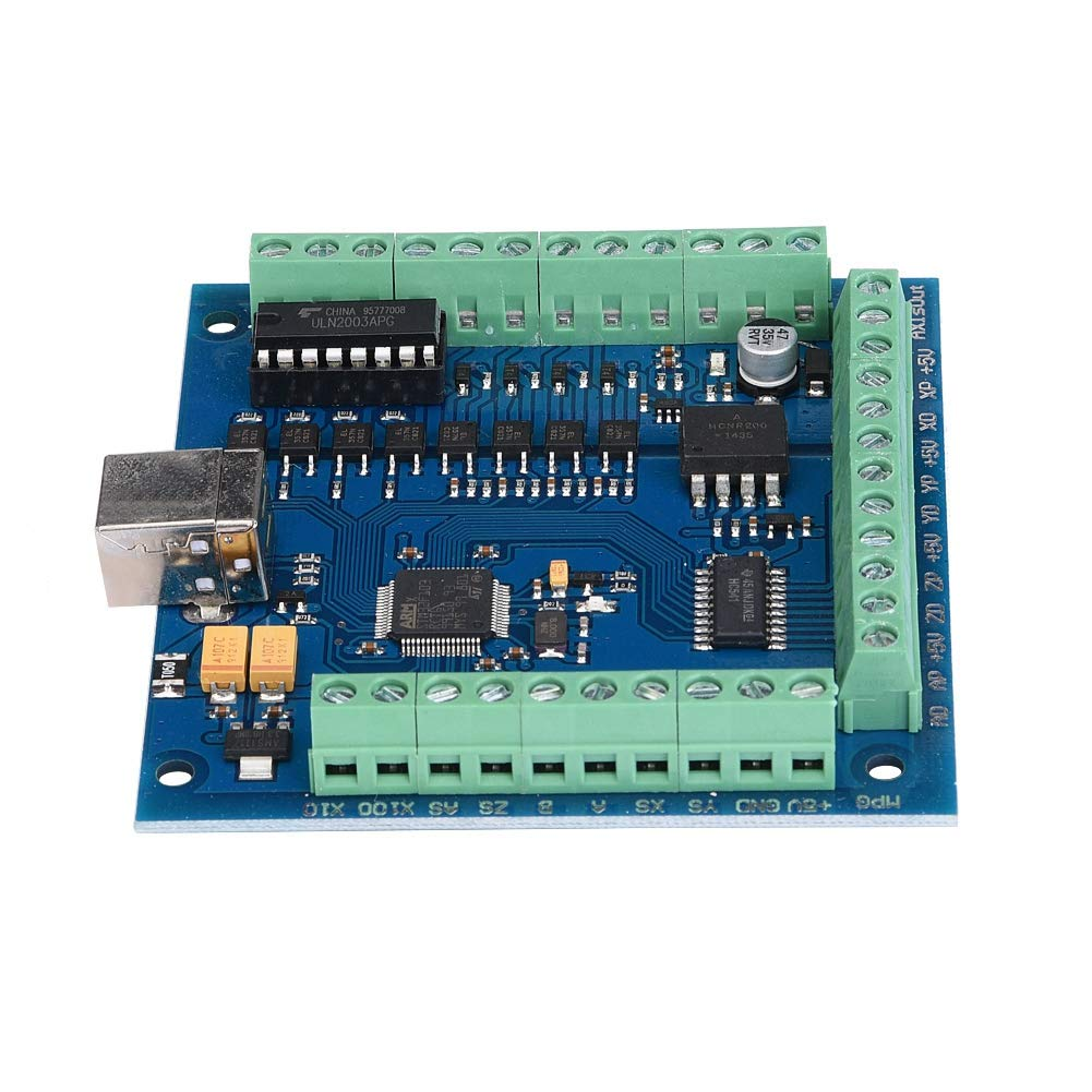 MACH3 Motion Card 4 Axis USB CNC Motion Controller Card Breakout Board for Engraving 100 KHz