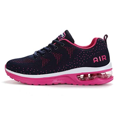 Atmungsaktive Fliege Linie Luft Männer und Frauen Laufen Schuhe Sneakers Sportschuhe e8Jc1