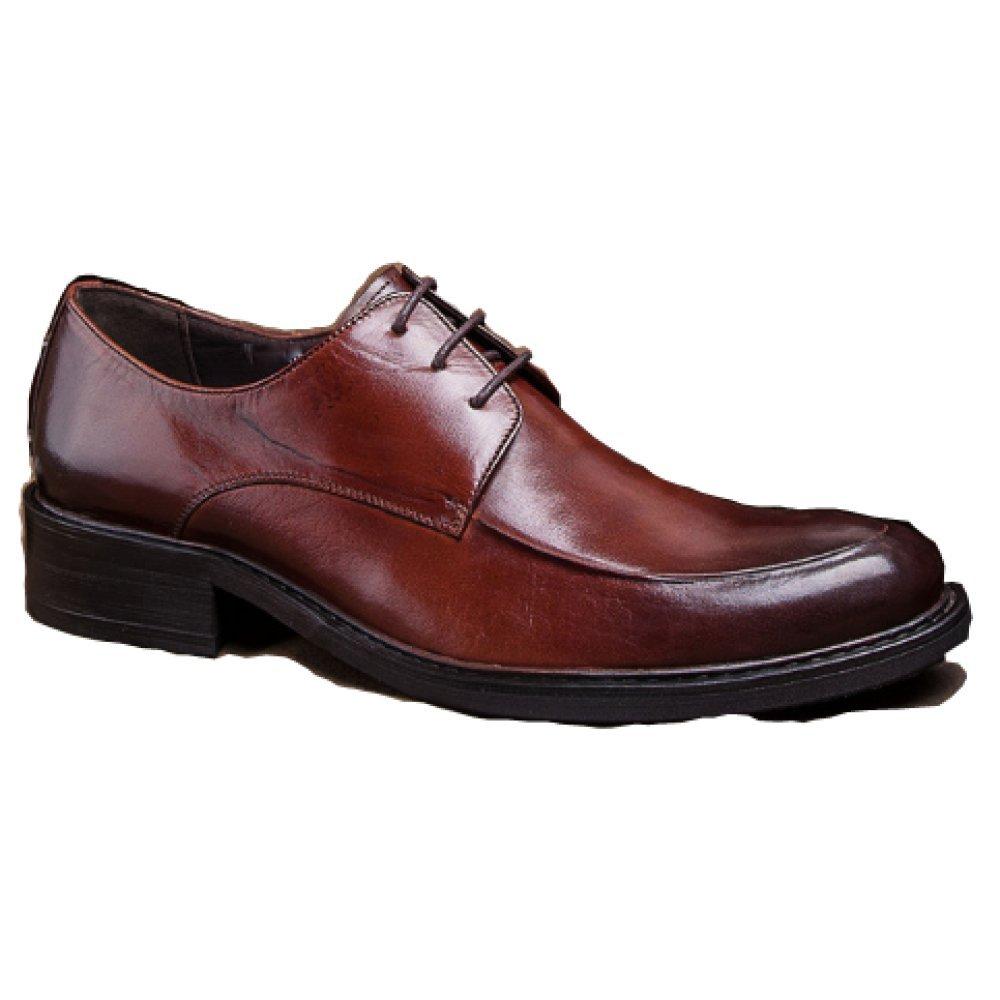 NIUMJ Business-Schuhe Britische Schuhe Koreanische Version Spitze Leder Mode Schuhe Sätze von Füßen Mode Herrenschuhe Verschleißfest