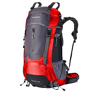 db563723b2 Mountaineering Backpack Hiking Outdoor Rock Climbing Bulk Travel Trekking  60L Waterproof Camping Backpack