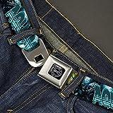 Buckle-Down Seatbelt Belt Aquaman Regular