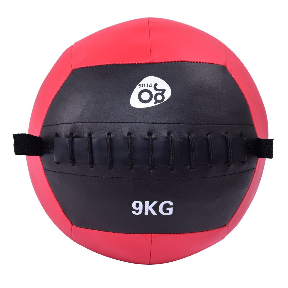 goplus Wall Ball - Balón medicinal de peso pelota de ejercicios ...