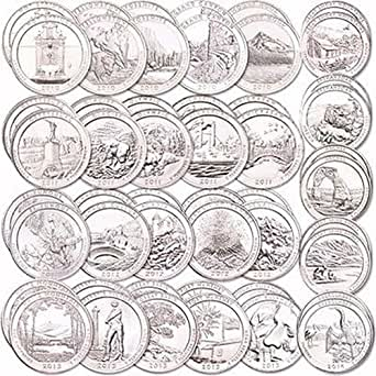 2010 P National Park Quarter National Park Quarters Set 2010 2015 With Folder Uncirculated At