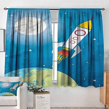 Amazon.com: Sanring Kids,Boys Bedroom Backout Curtains ...