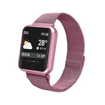 Health Smartwatc Mujeres,Miya Fitness Tracker Impermeable IP68 Bluetooth Smartwatch Reloj Inteligente Actividad para Deporte con Pulsómetro Monitor de Sueño ...