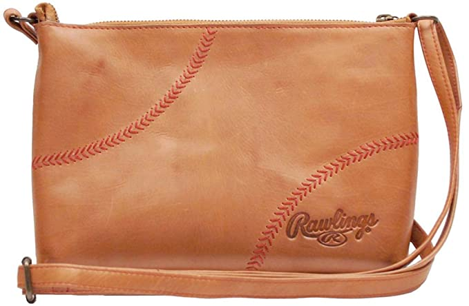 a96fbfa8aeb2 Rawlings Women's Baseball Stitch Cross Body Bag