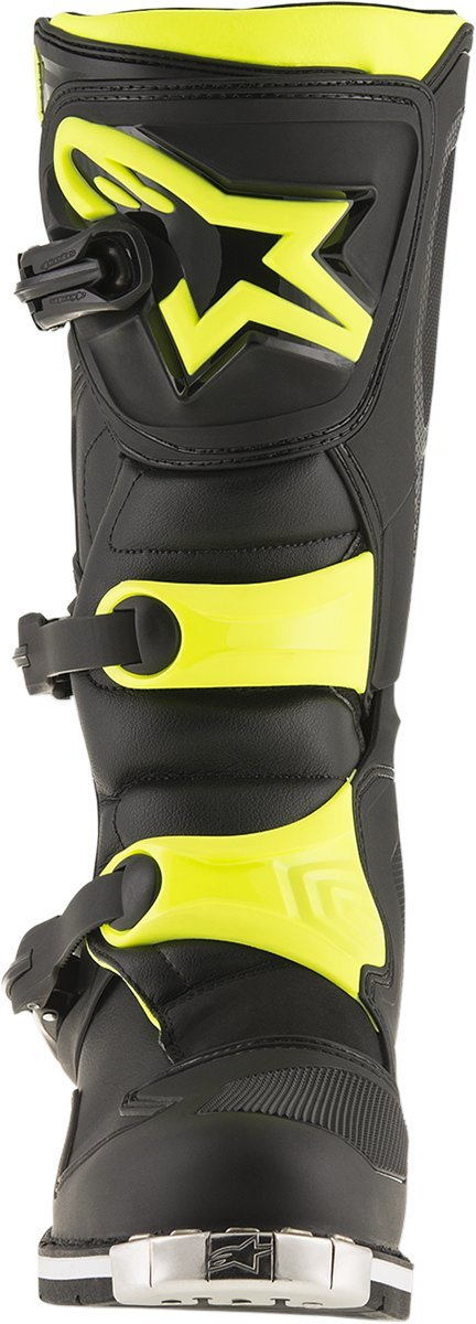 Alpinestars Mens Tech 1 Boot (Black/Yellow, 15) by Alpinestars (Image #2)