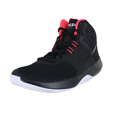 official photos a2e55 a44af Nike Mens Air Precision Black Black Solar Red White Size 8.5  Buy Online at  Low Prices in India - Amazon.in