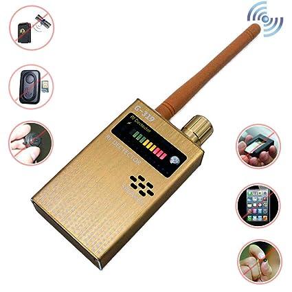 Bug Detector Anti-Spy Wireless RF Signal Detector GPS Hidden Camera Signal Detector, for