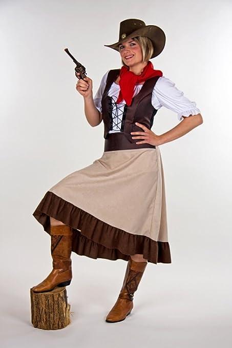 Saloon - Mujer Western girl Traje 40 talla/42: Amazon.es: Juguetes ...