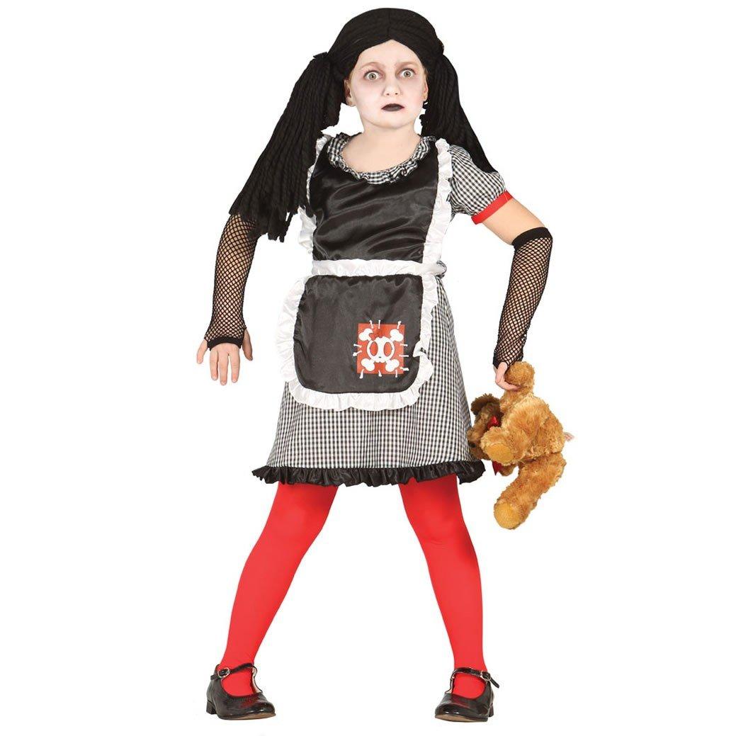 Disfraz de muñeca diabólica infantil mediano (5-6 años): Amazon.es ...