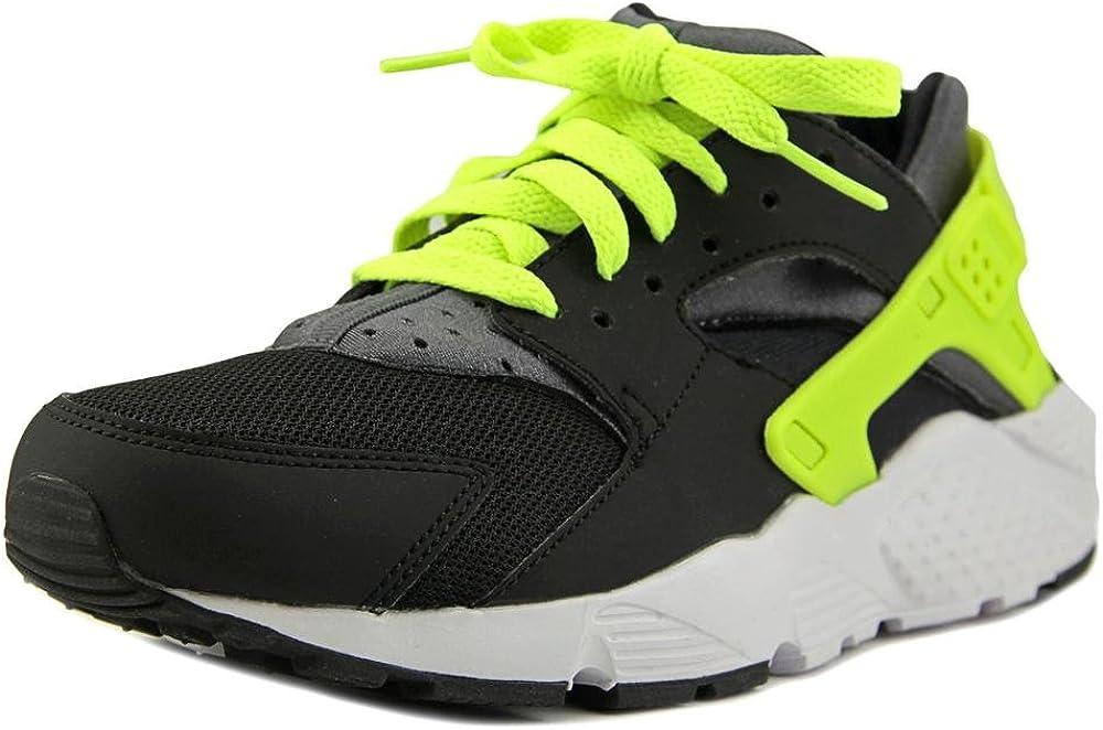 GS Youth US 5 Black Running Shoe NIKE Huarache Run