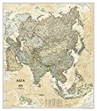 Asia Executive [Tubed] (National Geographic Reference Map)