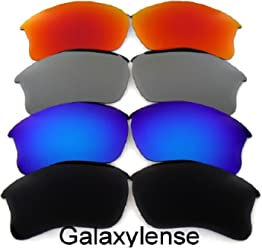 8f103939daa Galaxy Replacement Lenses For Oakley Flak Jacket XLJ 4 Pairs Polarized