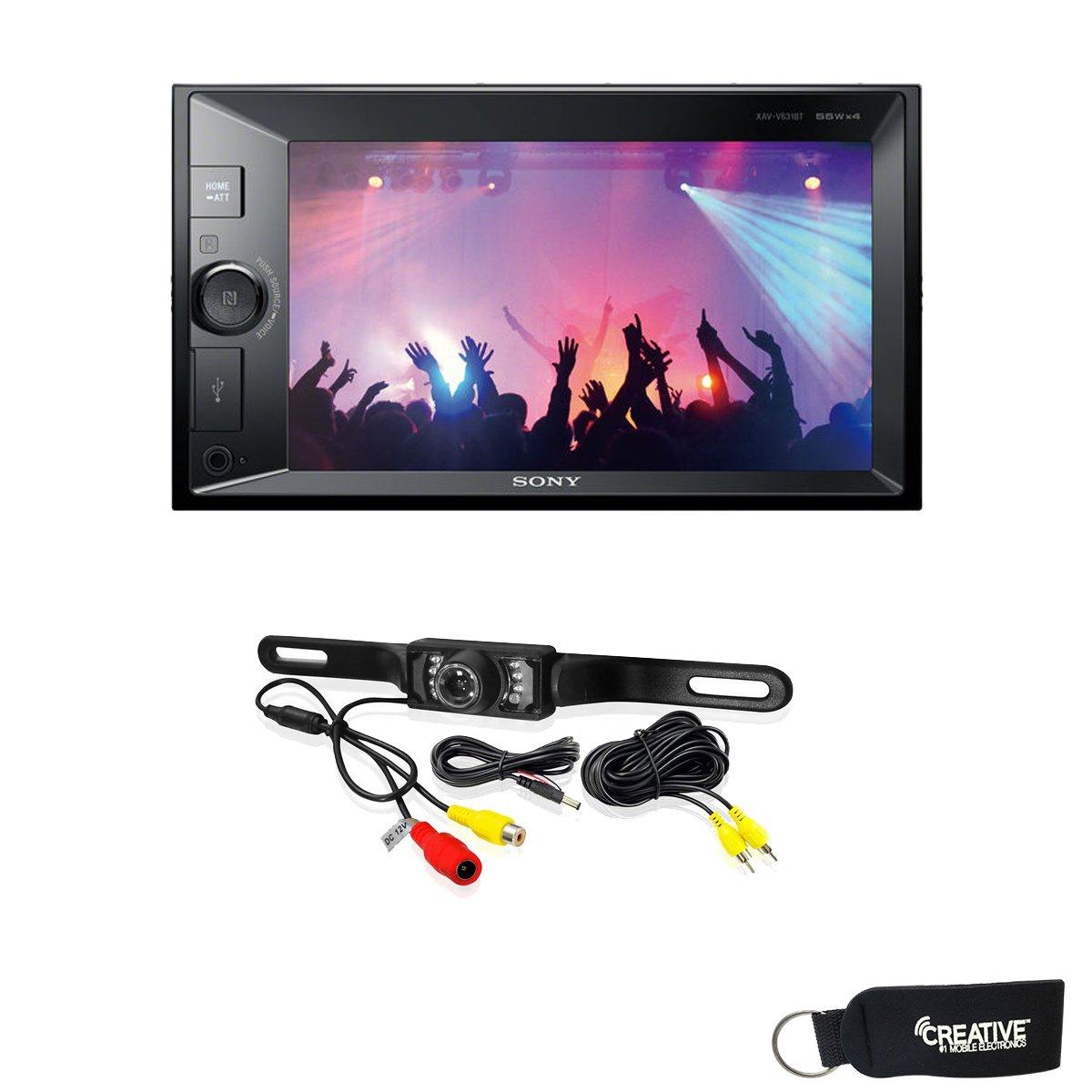 Sony XAV-V631BT Digital Media Receiver with Bluetooth and Back Up Camera