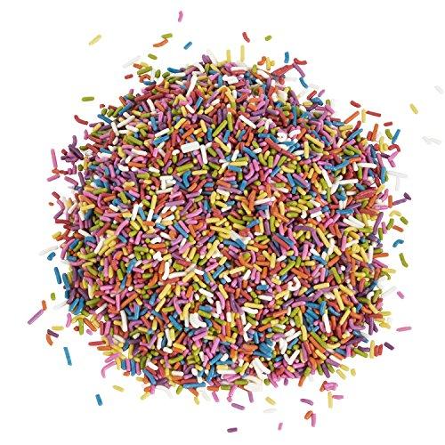 Natural Sprinkles Rainbow - Rainbow Sprinkles with No