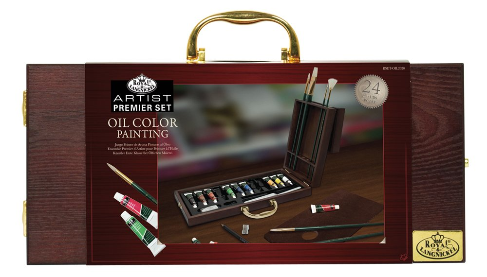 All Media Easel Artist Set 48pc, Oil, Acrylic, Watercolour Royal and Langnickel REA6048 reikos_0019522742AM_0031699