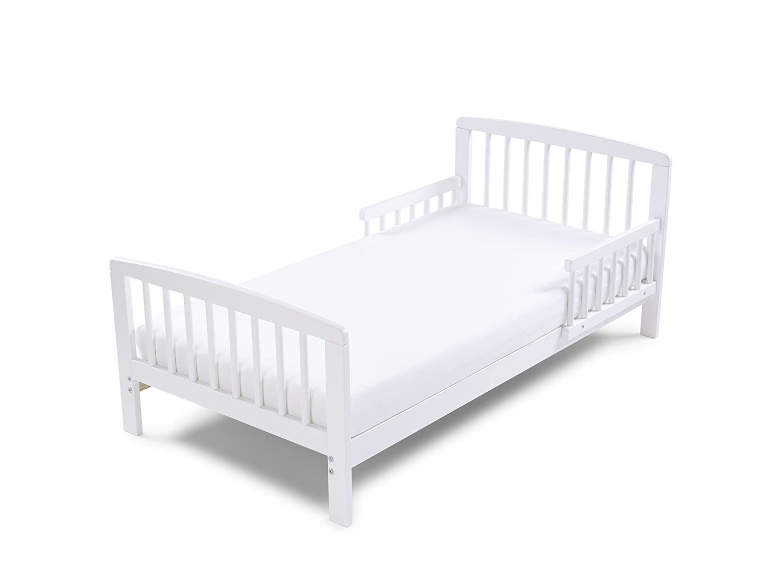 Poppys Playground Eve - White Junior Toddler Bed & Deluxe sprung Mattress Poppy's Playground