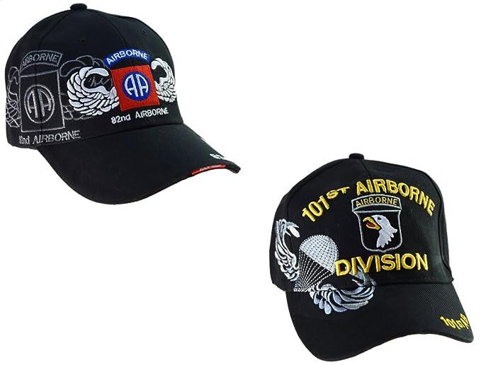 rechercher l'original sur des coups de pieds de prix d'usine topt mili Lot de 2 Casquettes Américaine 101st Airborne ...